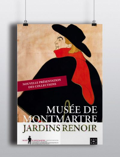 Poster musee montmartre