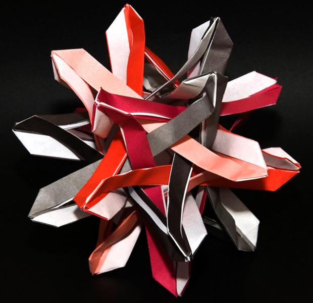 Origami par l'artiste Ilan Garibi