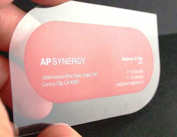 Carte Plastique Transparente Avec Forme De Dcoupe
