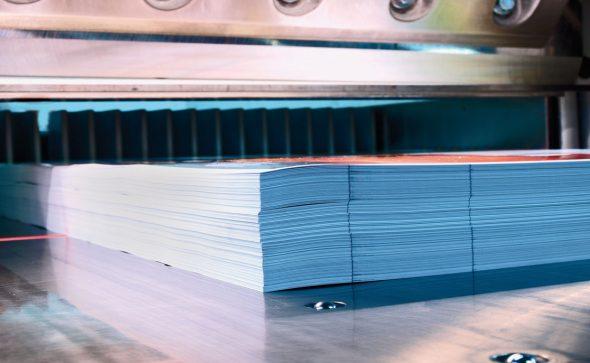 massicot imprimerie