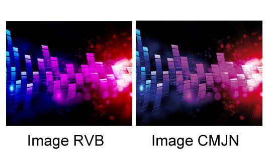 RVB et CMJN