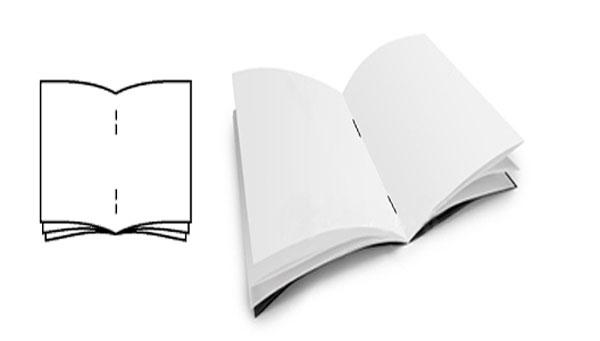 Shéma brochures 2 piqûres métal