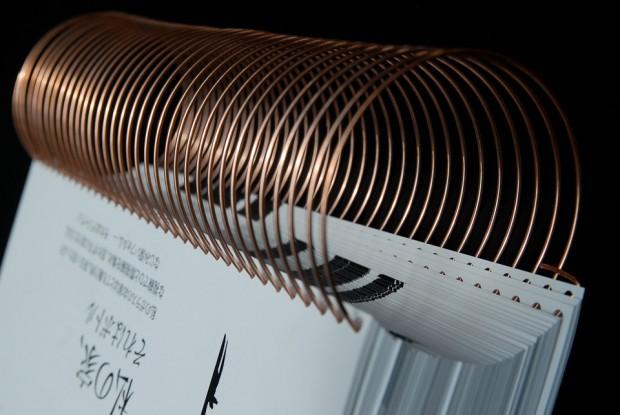brochure spirale helicoidale