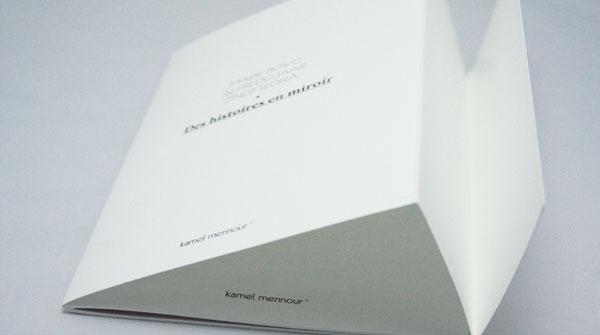 Brochure dos carré collé agrafé avec rabat