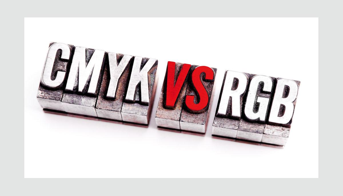 Couleurs RVB et CMJN en impression