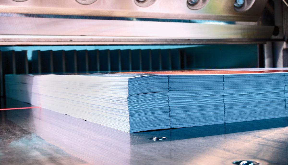 L'art du façonnage en imprimerie